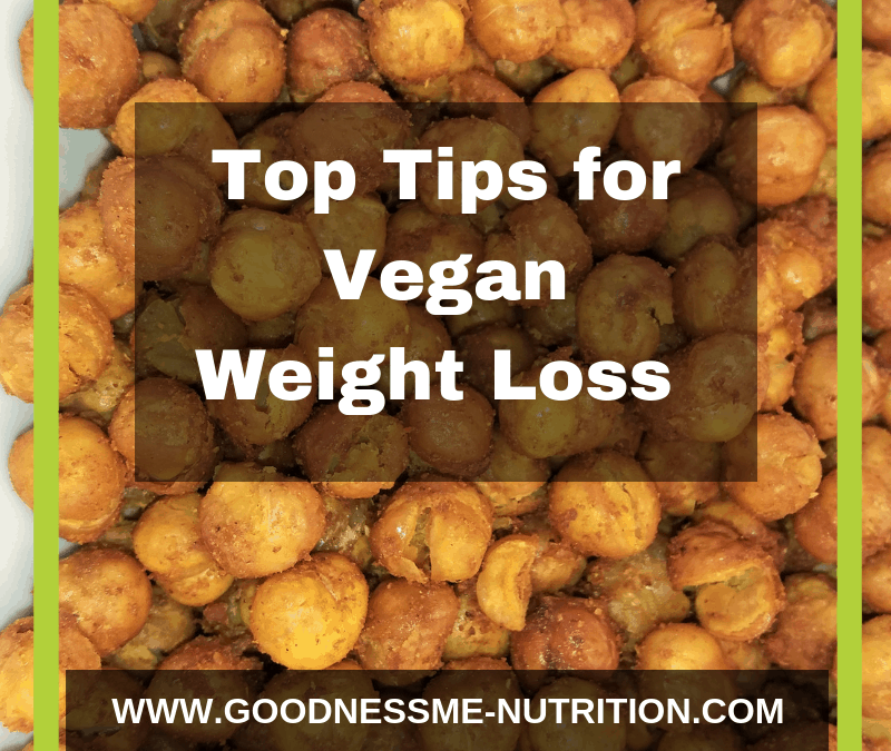 Struggling to lose weight on a vegan diet?