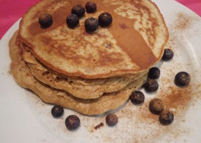 Buckwheat, Almond & Banana Pancakes