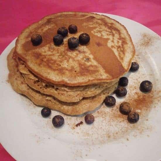Buckwheat, Almond & Banana Pancakes
