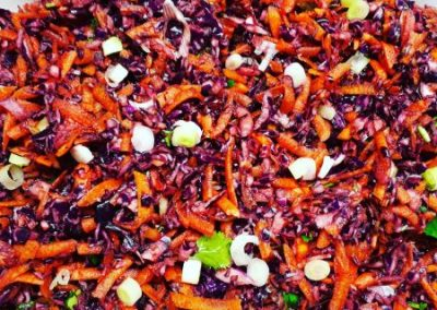 Gut Healthy Red Cabbage Coleslaw Recipe