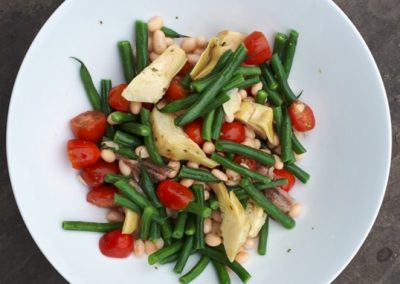 Fibre Packed Bean Salad With Artichokes